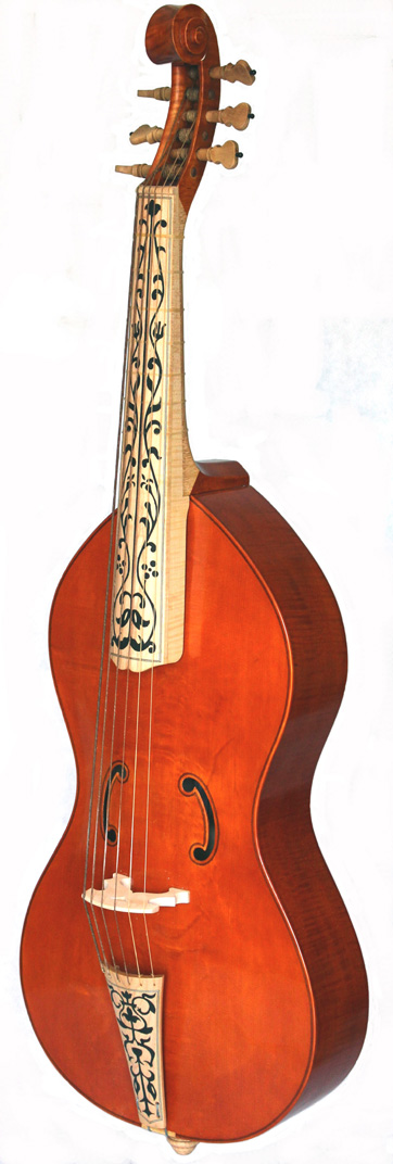 Bass viol after Antonio Brensio